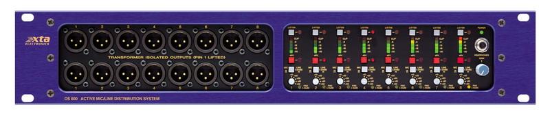 8进32出音频信号分配器
